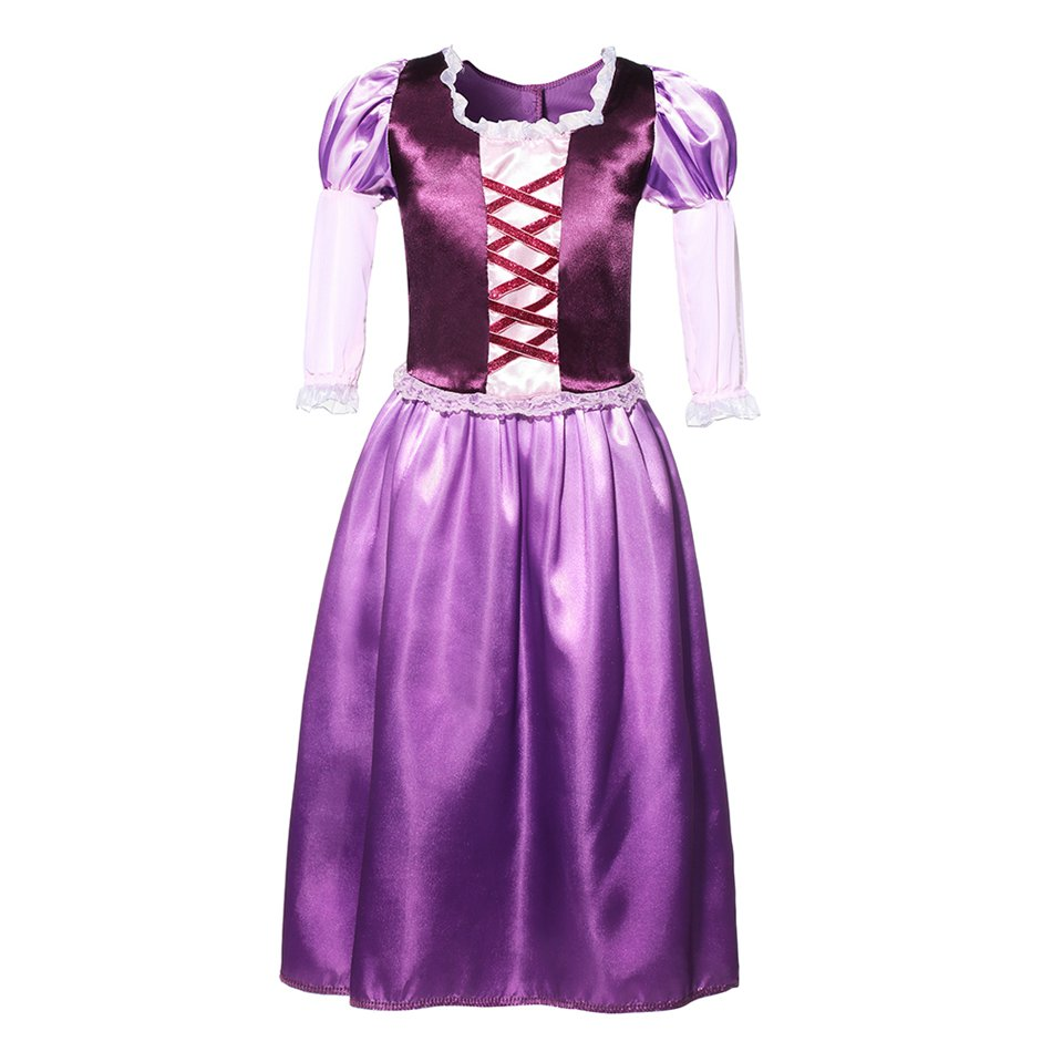 Tangled Princess Party Dress (1)
