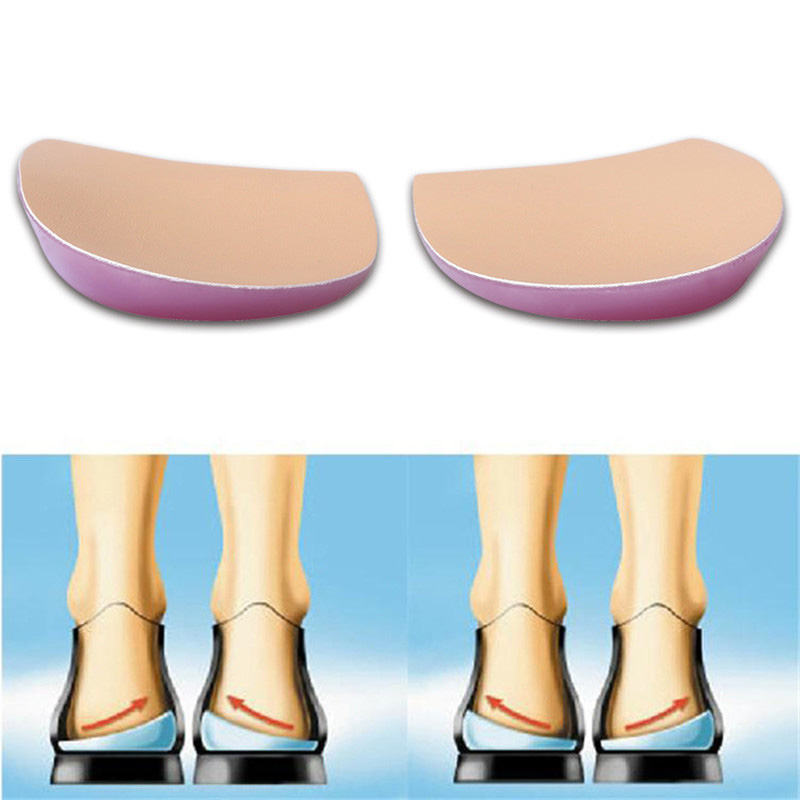 1Pair New Orthopedic Heel Insoles Correct O-leg X-leg Splay Foot Orthotics Shoes Pad Create Beauty Leg Feet Care For Men/Women