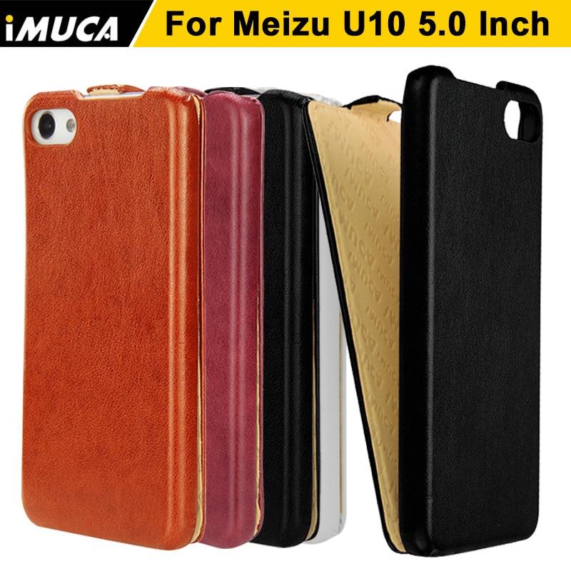 iMUCA Leather case for Meizu u10 case cover flip capa Meizu U10 U 10 pro prime Luxury leather coque mobile phone cases cover