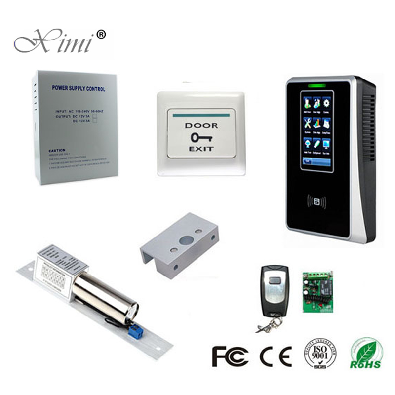Us 152 0 5 Off Zk Sc700 Door Access Control System Diy Touch Screen Tcp Ip Smart Card 125khz Rfid Card Access Control In Fingerprint Recognition