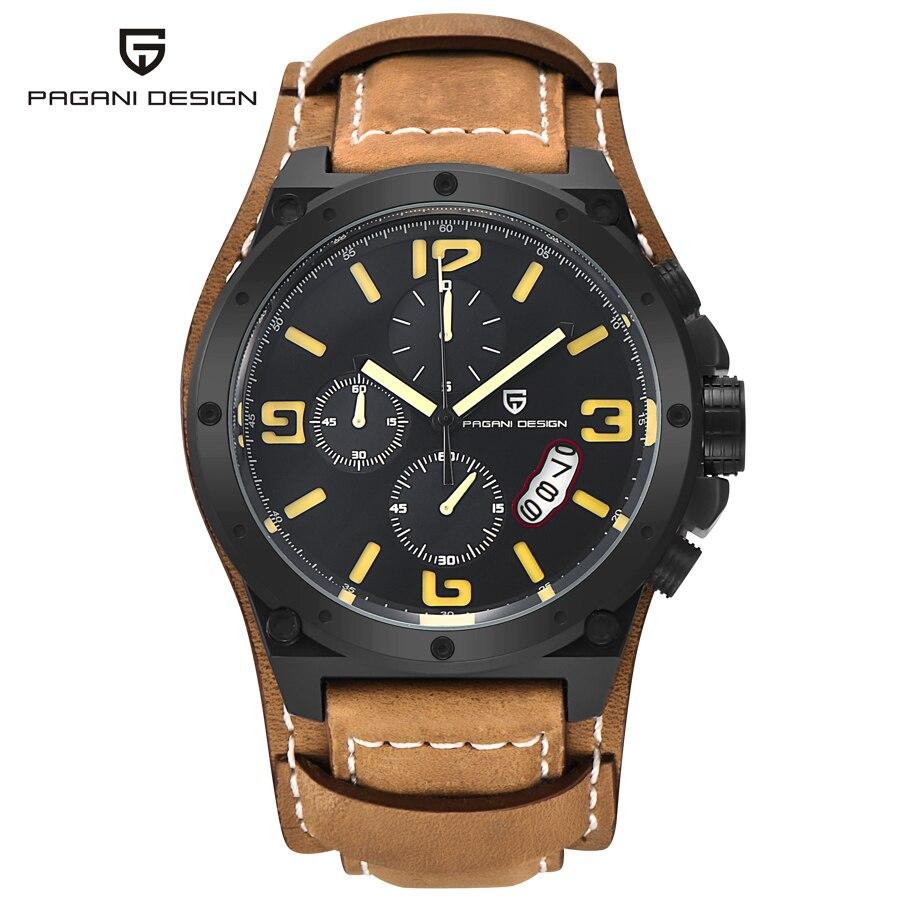 2019 nouvelle marque de luxe de mode affaires Quartz montre hommes Sport montres militaires montres hommes Corium bracelet en cuir armée montre-bracelet