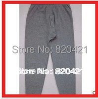 2013 Fall Male Warm Velvet Pants Bamboo Charcoal Fiber Double Layer Cotton Legging Trousers Plus Velvet