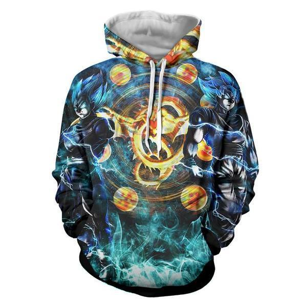 Dragon Ball 3D Hoodies