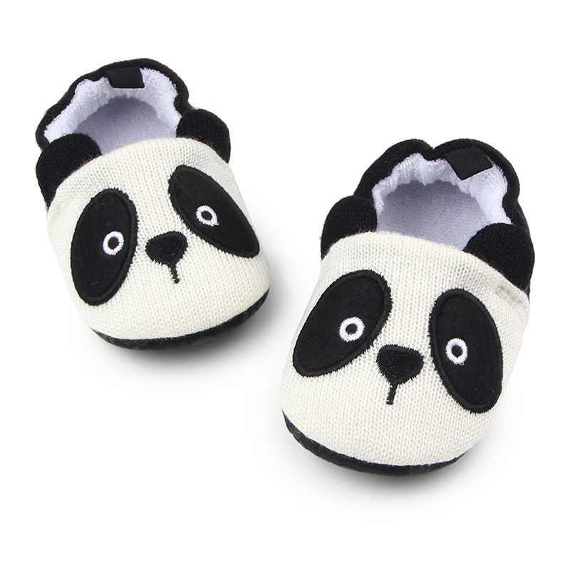 65e515577 ... Мультфильм панда мышь детская обувь для новорожденных маленьких девочек  и мальчиков обувь первые ходунки детская обувь ...