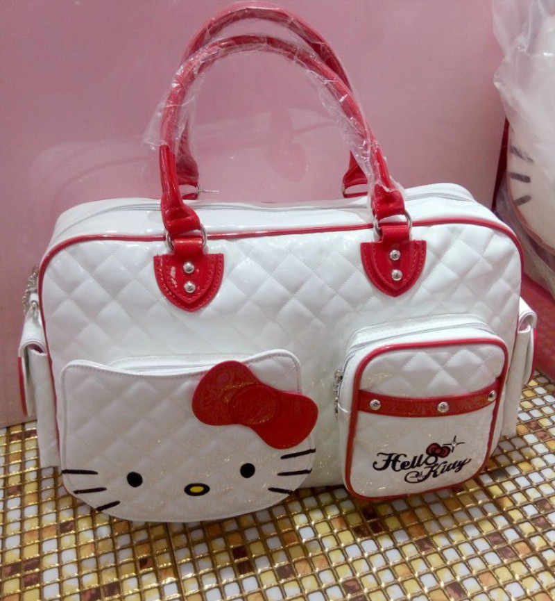 Detail Feedback Questions about New Hello Kitty Bag with Shoulder ... 1ffd621763c87