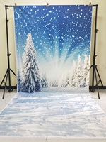 HUAYI 5x10ft Photography Backdrops christmas Backdrop Photo prop Cotton Polyester Washable christmas KP 028