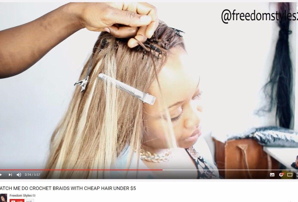 Qp Hair Crochet Braid Ombre Två Tone GRAY OMBRE JUMBO Pre Braiding - Syntetiskt hår - Foto 2