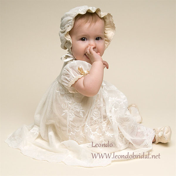 zq 1 cute baby girl lace dress long baptism baby dress ankle length
