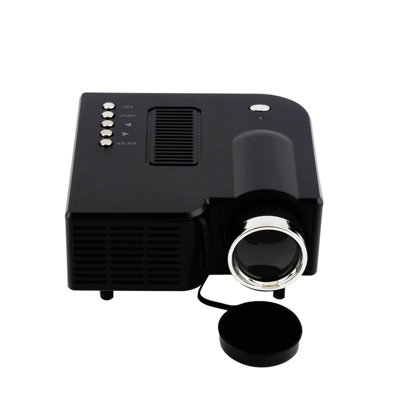 Uc28 multimedia portable mini hd led projector cinema for Pocket projector hdmi input