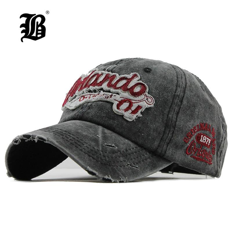 [FLB] Brand Men Baseball Caps Dad Casquette Women Snapback Caps Bone Hats For Men Fashion Vintage Gorras Letter Cotton Cap F111