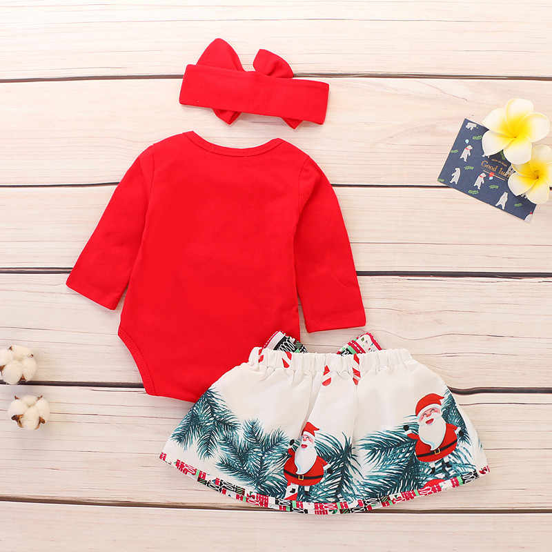 f5b63404f Detail Feedback Questions about Christmas Baby Girl Clothes Long ...