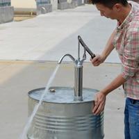 Hand Operated Barrel Pump Lever Diesel Oil Water Fuel Transfer Pump 20L/min for Car Marine Motorbike Boat