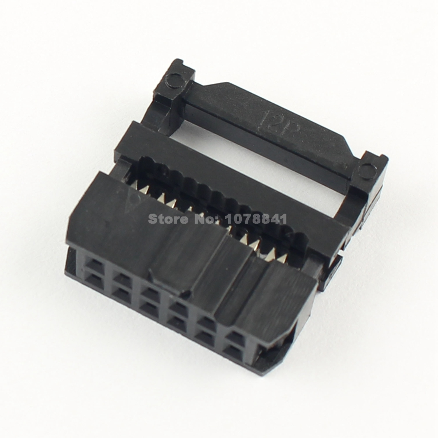 Lights & Lighting 50 Pcs Per Lot 2.54mm Pitch 2x6 Pin 12 Pin Idc Fc Female Header Socket Connector We Have Won Praise From Customers Lighting Accessories