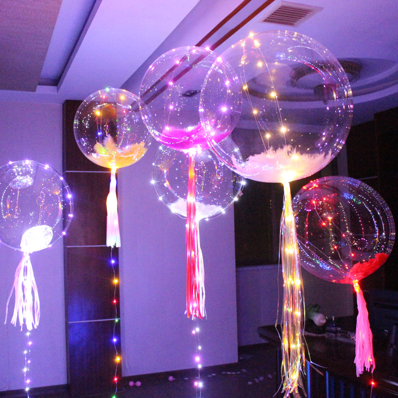 Crafts Provided Set Of 9 Handmade Glass Balloons Balloon Lights Christmas Decoration Wedding