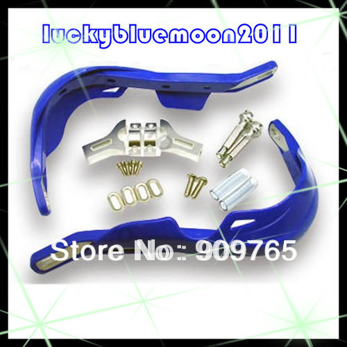 One Set Blue Wide Fat Bar Handguard Hand guards Raptor 22mm 7/8 mounting Kit motorcross off-road motorcycles for KTM Honda