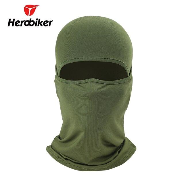 HEROBIKER Summer Motorcycle Face Mask Moto Balaclava Ski Mask Ghost Skull Biker Breathable Face Shield Motorcycle Mask, 8 Colors 1