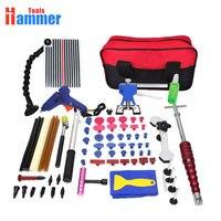 Набор инструментов PDR Paintless Dent Repair набор инструментов для автомобиля тела dent удаление инструментов набор клеевых палочек клей пистолет ручн