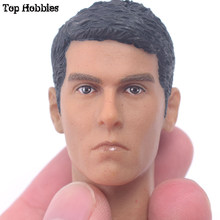 TOY 1/6 Scale Head Scuplt Carve For Hot Toys Body Action Figure Toys Collections Gift TB34-25 Model 1: 6 Scale Male Soldier Head(China)