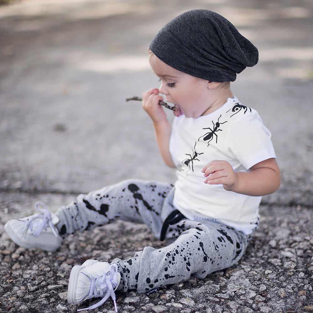 Telotuny Clothing Set For Baby Boys Girls Summer Clothing Set Letter Print T-shirt+shorts Set Outfits Beaches Love Me Ju 19 A Great Variety Of Goods Boys' Clothing