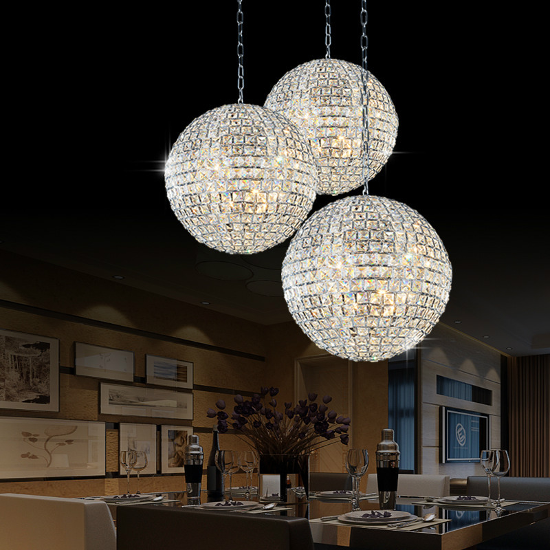 1 Light Crystal Chandelier Lighting Fixture Small Clear