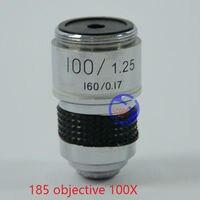 FYSCOPE 1 ST 100X L = 185 School Lab Onderwijsprojecten Student Gebruik Biologische Achromatische Optische Objectief