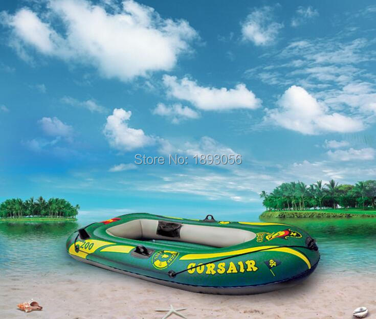 2 person FISHMAN 198x117cm inflatable boat fishing boat