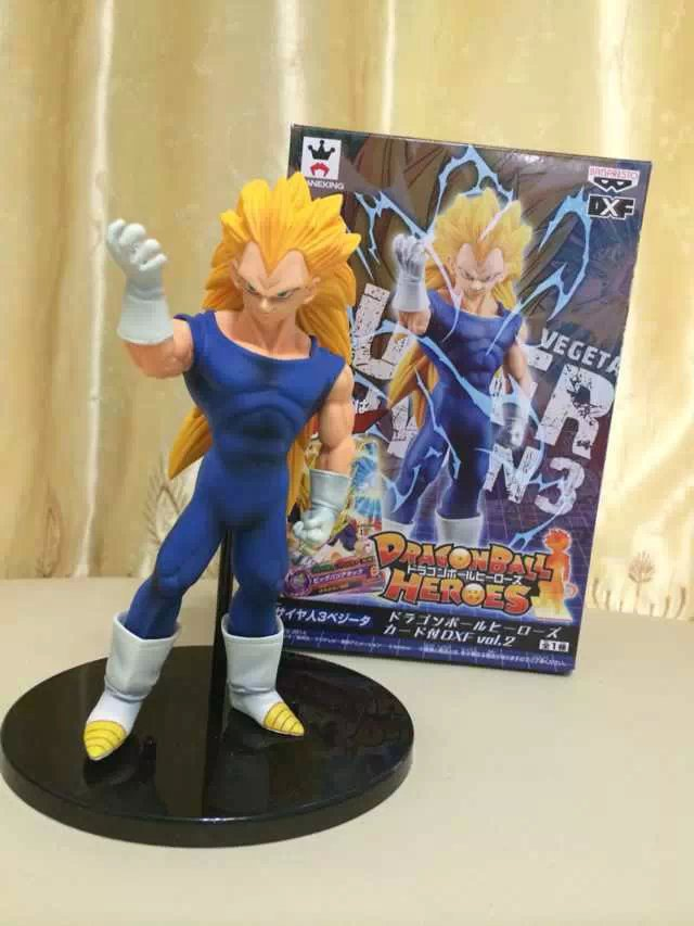 Action Figure Dragon Ball Z Heroes Pvc Vegeta 16cm Gift