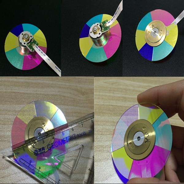 ФОТО NEW original Projector Color Wheel for  ACER H5370BD color Wheel ( Diameter/58mm)