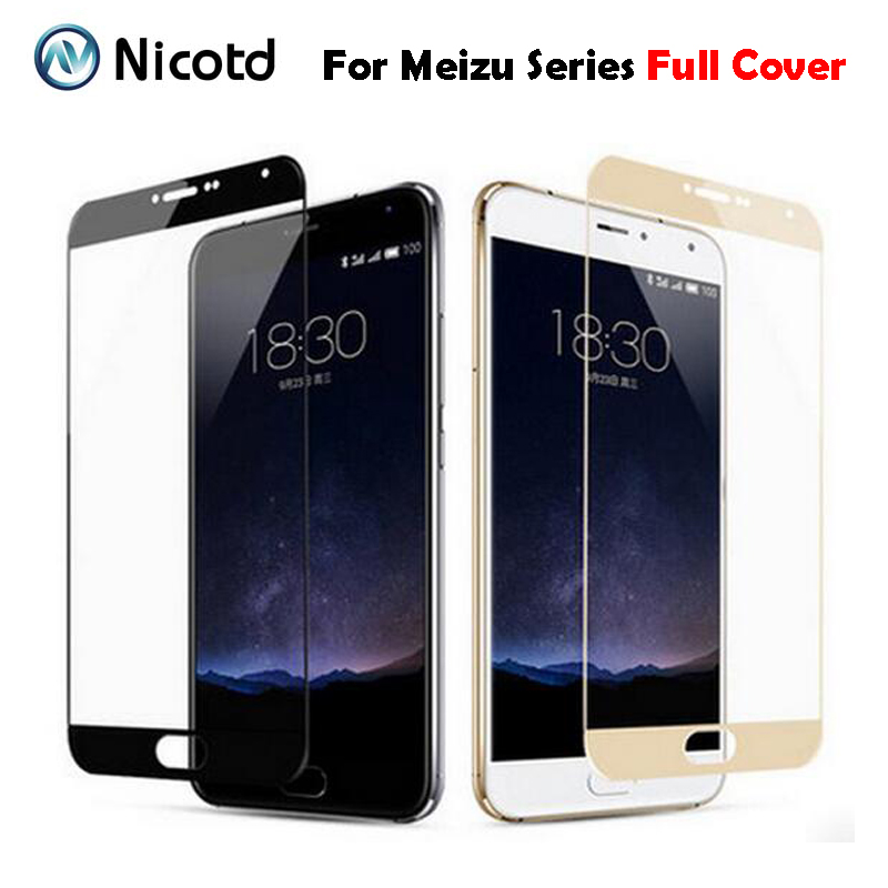Tempered-Glass-Film Meizu M3s Screen-Protector Note 9H for Mini on Full-Cover