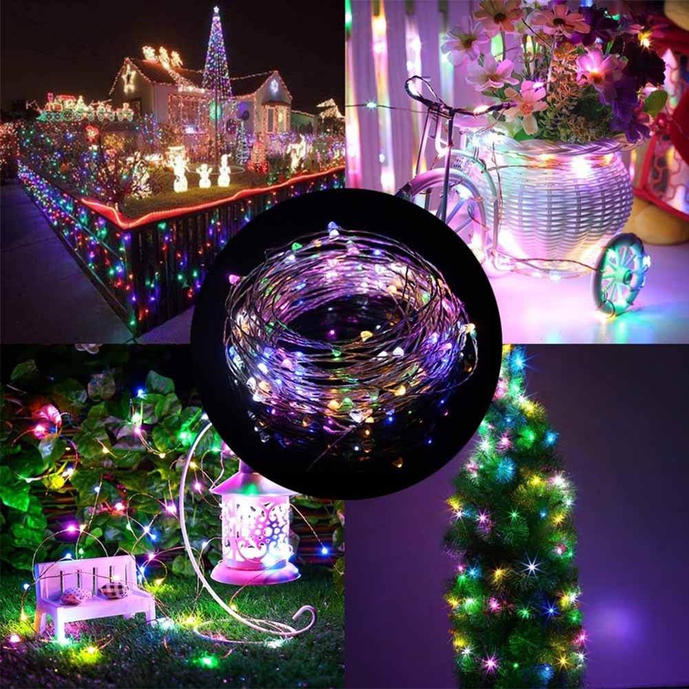 10m usb copper wire fairy led string light indoor outdoor - Indoor string light decoration ideas ...