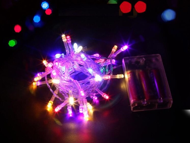 2 3 4 5m Colorful Led Neon String Lights Waterproof Holiday Strip