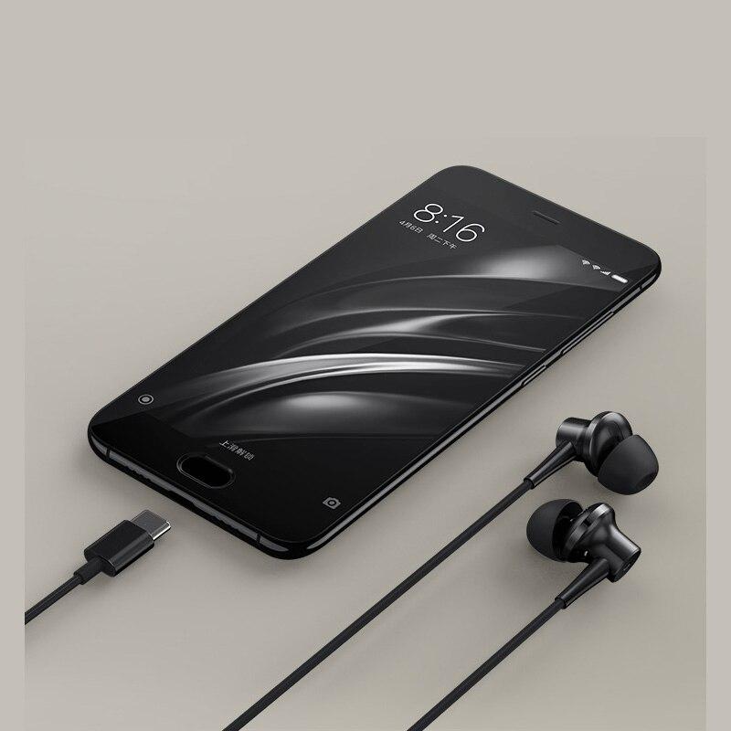 Original Xiaomi ANC Earphones Hybrid Type C Charging Free Mic Line Control for Xiaomi Mi6 MIX Note2 Mi5s /Plus Mi5 - 5