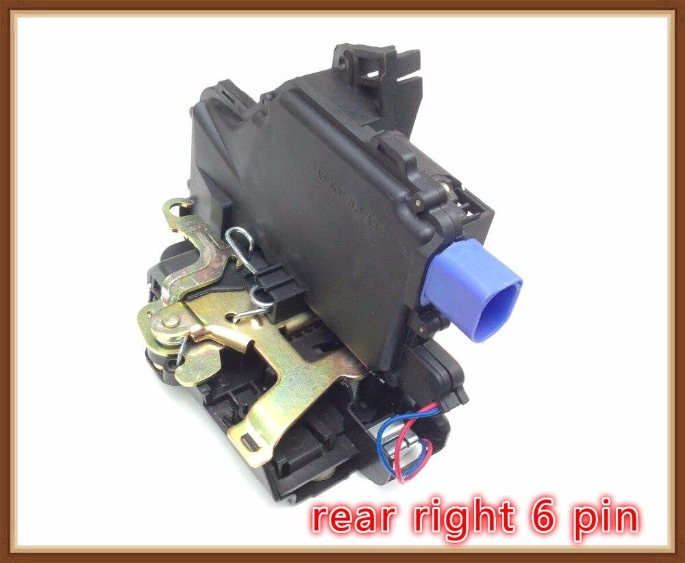 REAR right Door Lock Mechanism FOR VW POLO 9N PASSAT 3B SKODA FABIA SUPERB SEAT CORDOBA (6L) IBIZA egr valve for skoda fabia vw polo seat ibiza 03d131503b 03d131503d 03d131503c page 1