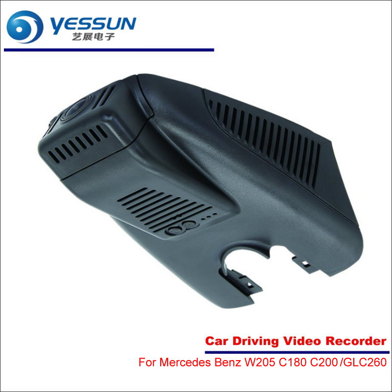 YESSUN For Mercedes Benz C Class W205 C180 C200 GLC Class GLC260 Car DVR Driving Video Recorder Front Camera Black Box Dash Cam car center console dashboard speaker cover protection cover trim for mercedes benz c class w205 c180 c200 c260 glc class x253