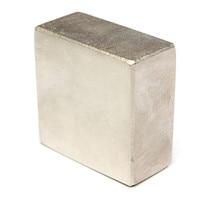 N52 50x50x25mm Block Magnet Super Strong Rare Earth Neodymium Magnet
