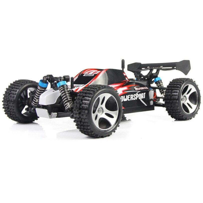 Wltoys A959 Rc coche 50 km/h 1/18 2.4Gh 4WD Off-Road Buggy Rc coche de Control remoto juguetes para los niños regalo de Alta Velocidad fuera de la carretera del A979