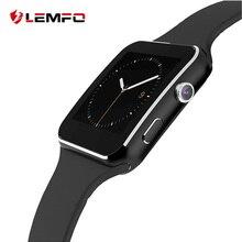Продажа LEMFO Новый Для мужчин s Смарт-часы Поддержка Bluetooth циферблат вызова SIM Камера шагомер мониторинг сна Для мужчин наручные часы для Android телефон