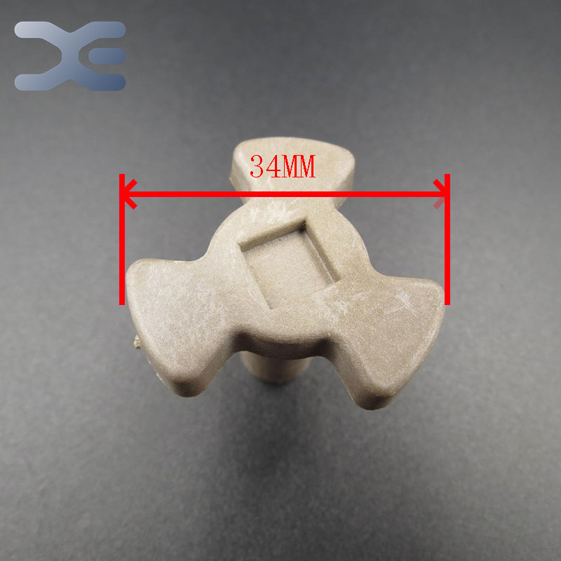 Free Shipping Microwave Oven Parts Turn Core Coupling Magnetron Onderdelen High Quality Glass Microwave Oven Parts microwave oven parts used quality computer control board egxcca4 01 k egxcca4 06 k emxccbe 06 k