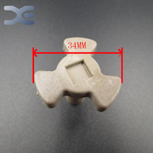 Free Shipping Microwave Oven Parts Turn Core Coupling Magnetron Onderdelen High Quality Glass Microwave Oven Parts