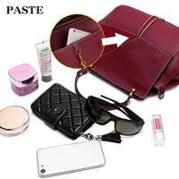 Cuir de vachette véritable femmes Messenger sacs bolsa feminina top vente de haute qualité sac à main