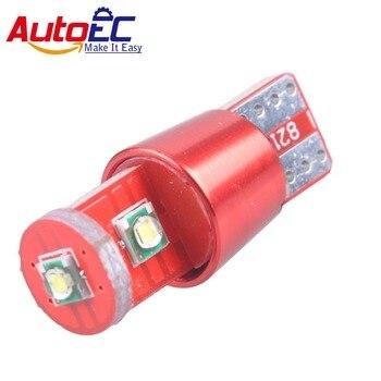 AutoEC 100X T10 15W high power W5W 194 168  Auto Car Clearance light Backup Reverse Lamp White 12V DC Wholesale #LB128