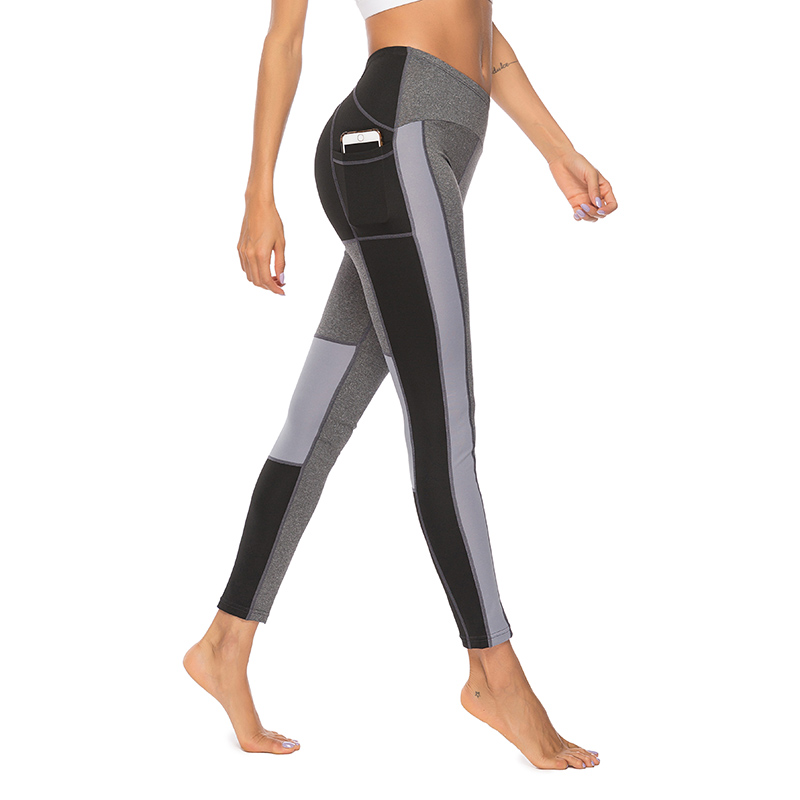 Leggins Sport Women Fitness Tights Sportswear Yoga Pants Sports Pants Running Training Yoga Leggings Patchwork Women Yoga Pants in Yoga Pants from Sports Entertainment