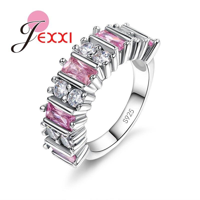 990 Argent Pur Simple Brossé Handmade personnalité Couple Modèles Open Ring