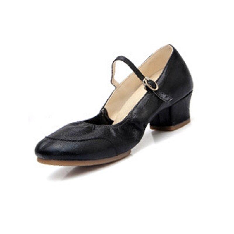 Suela blanda zapatos de baile de respiración zapatos deportivos cuentan zapatillas de deporte zapatos de práctica para las mujeres profesor moderno jazz zapatos de baile latino