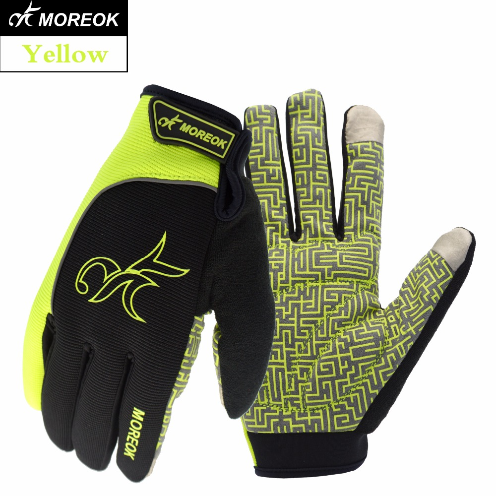 MOREOK Indoor and Outdoor Sports winter cycling glove