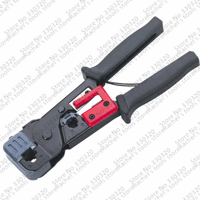Network Hardware Pliers 6P/8P Crimping Tools,telephone Cables Crimper/Cutter/Stripper For RJ11/12 RJ45 LS-86