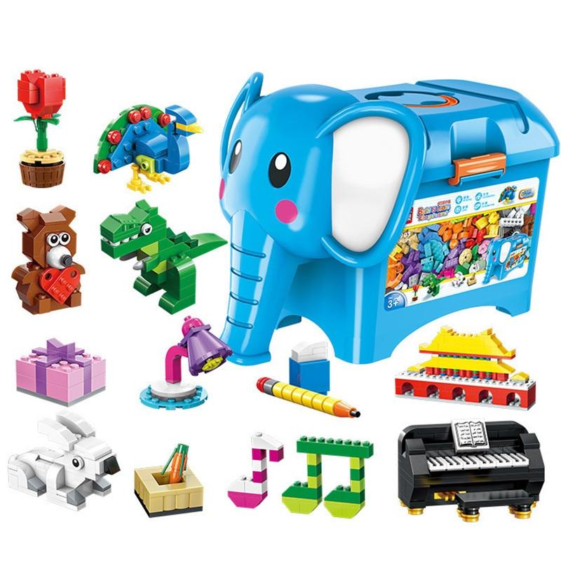 Building Blocks Compatible with Lego Enlighten E2903 1104P  Models Building Kits Blocks Toys Hobby Hobbies For Chlidren