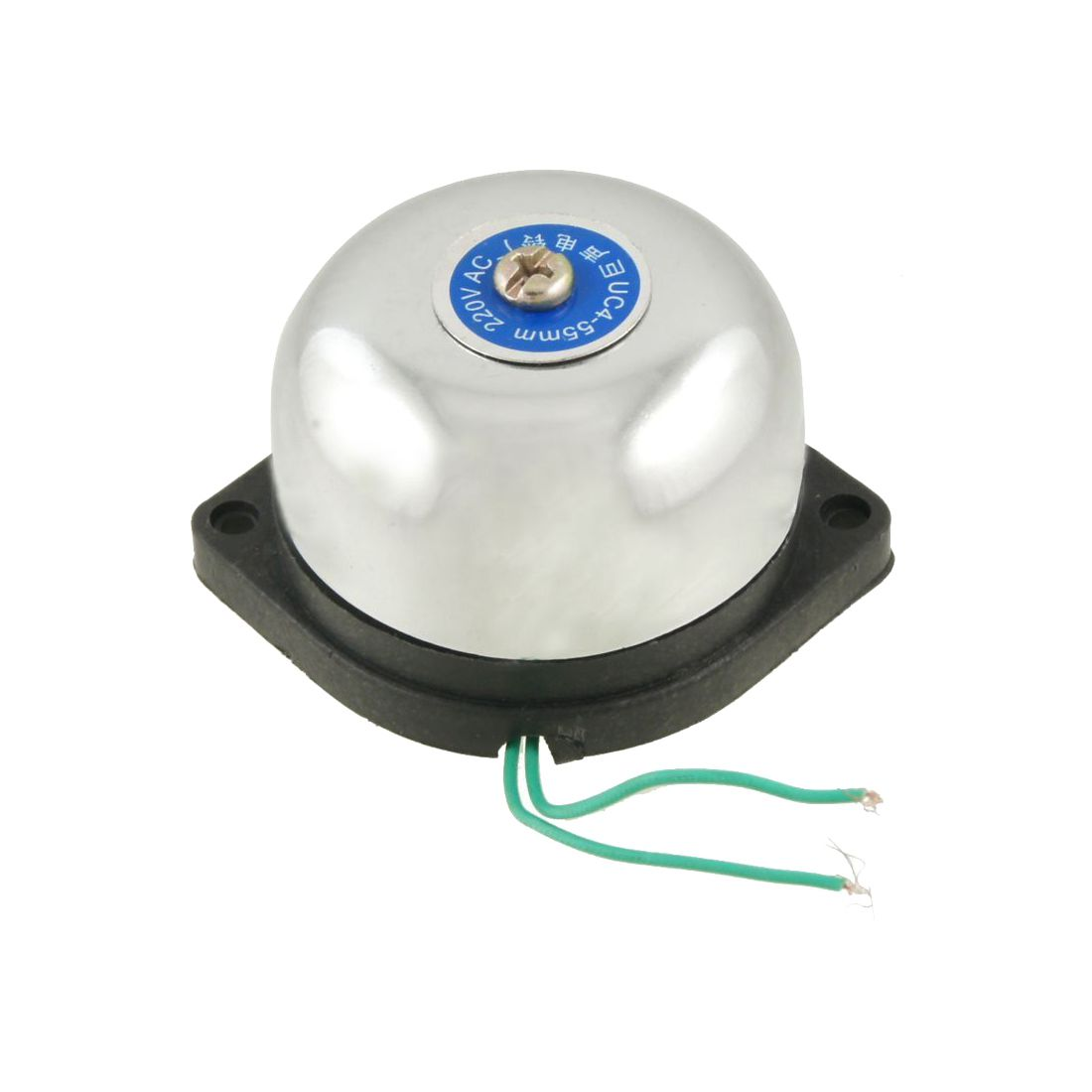 2 Pcs Of MOOL 55mm Diameter Fire Alarm Electric Gong Bell AC 220V