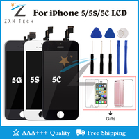 Mobile Phone LCD For IPhone 5C LCD Screen Assembly Pantalla For IPhone 5C Display Replacement Parts