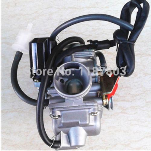 24mm Carb Carburetor 125cc 150cc 125 150 CC For Honda GY6 4 Stroke Baja ATV SunL Scooter Roketa SUNL Honda GY6 4Stroke PD24J starpad for heroic gy6 125cc 150cc moped carburetor